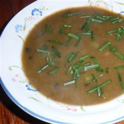 Vegan Black and White Bean Soup