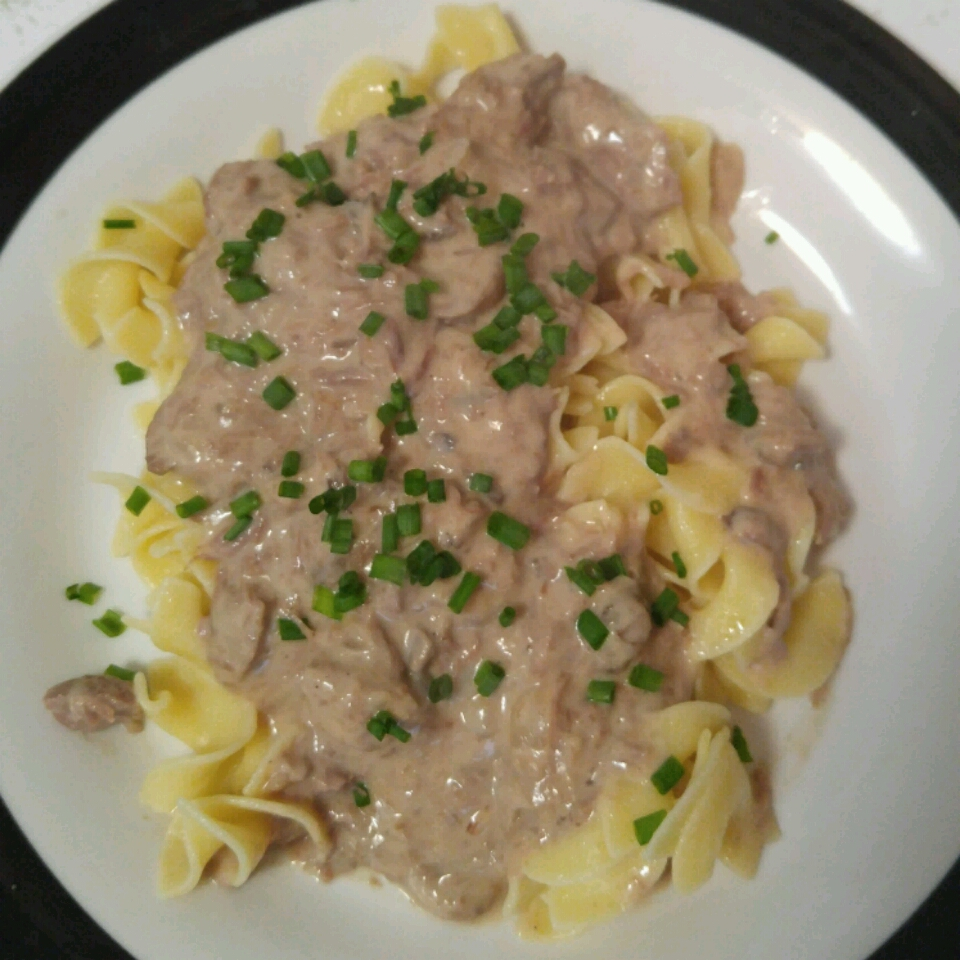 Quick and Easy Hamburger Stroganoff
