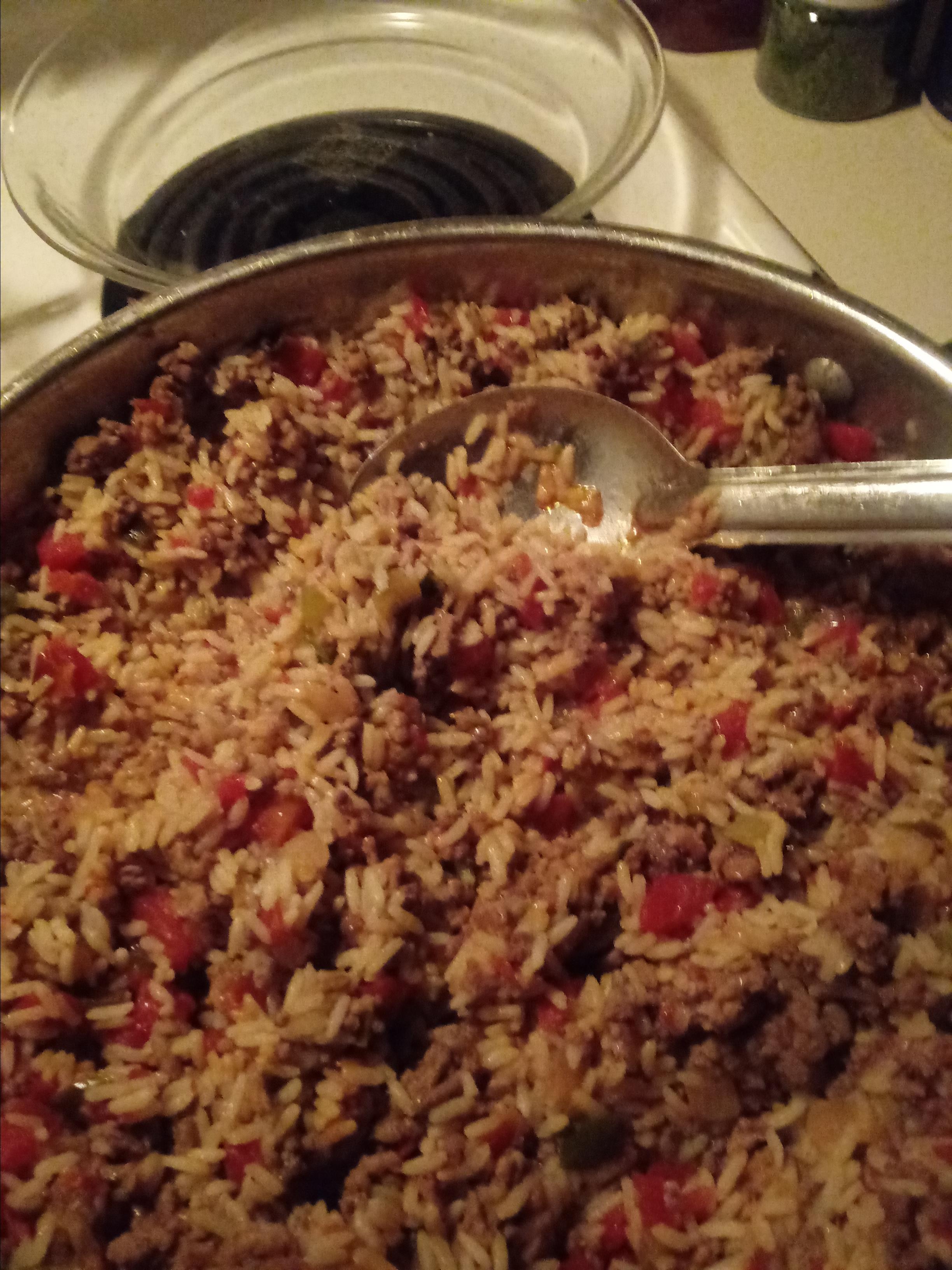 Cajun Dirty Rice Michelle Mccormick