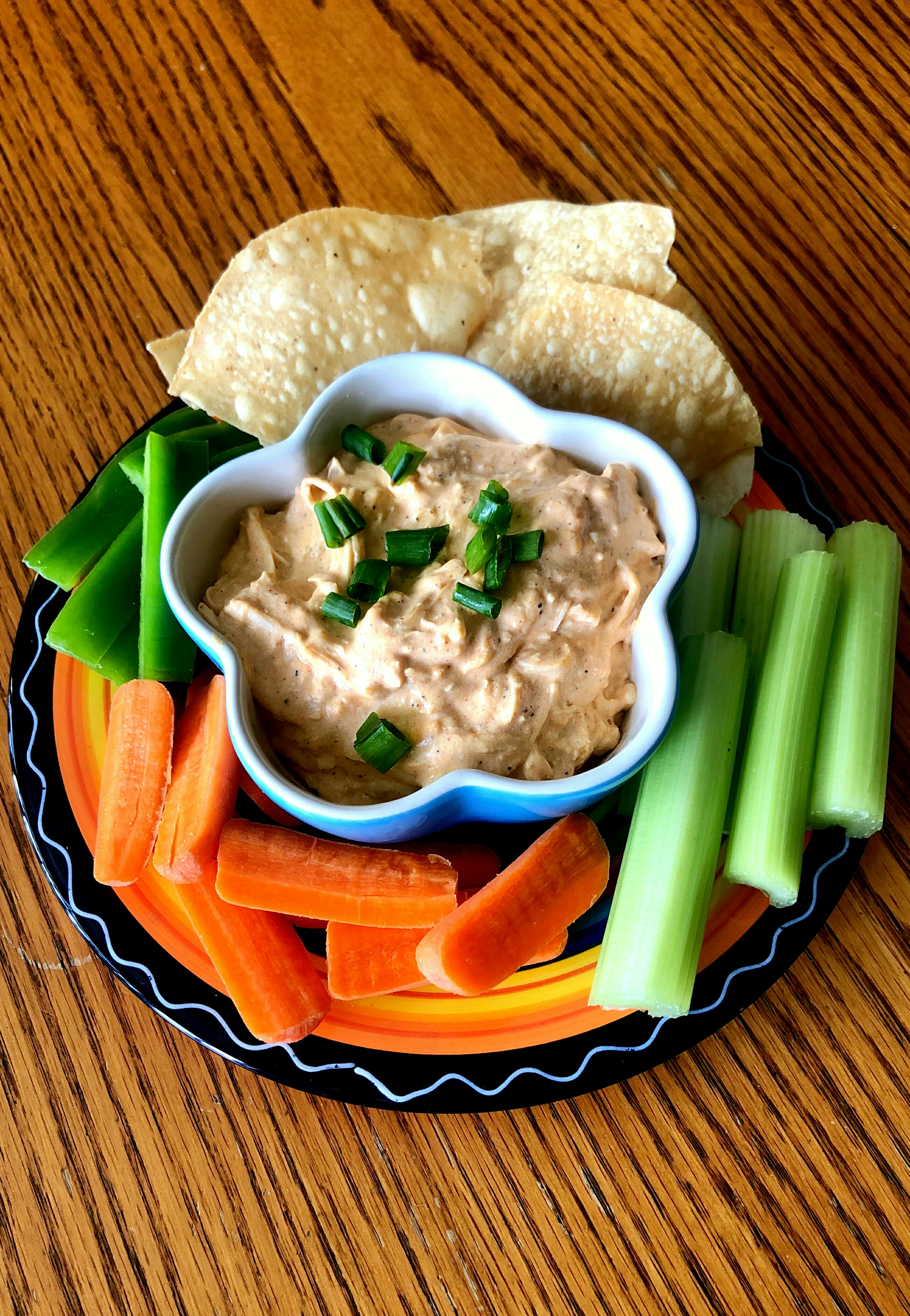Slow Cooker Buffalo Chicken Dip Yoly