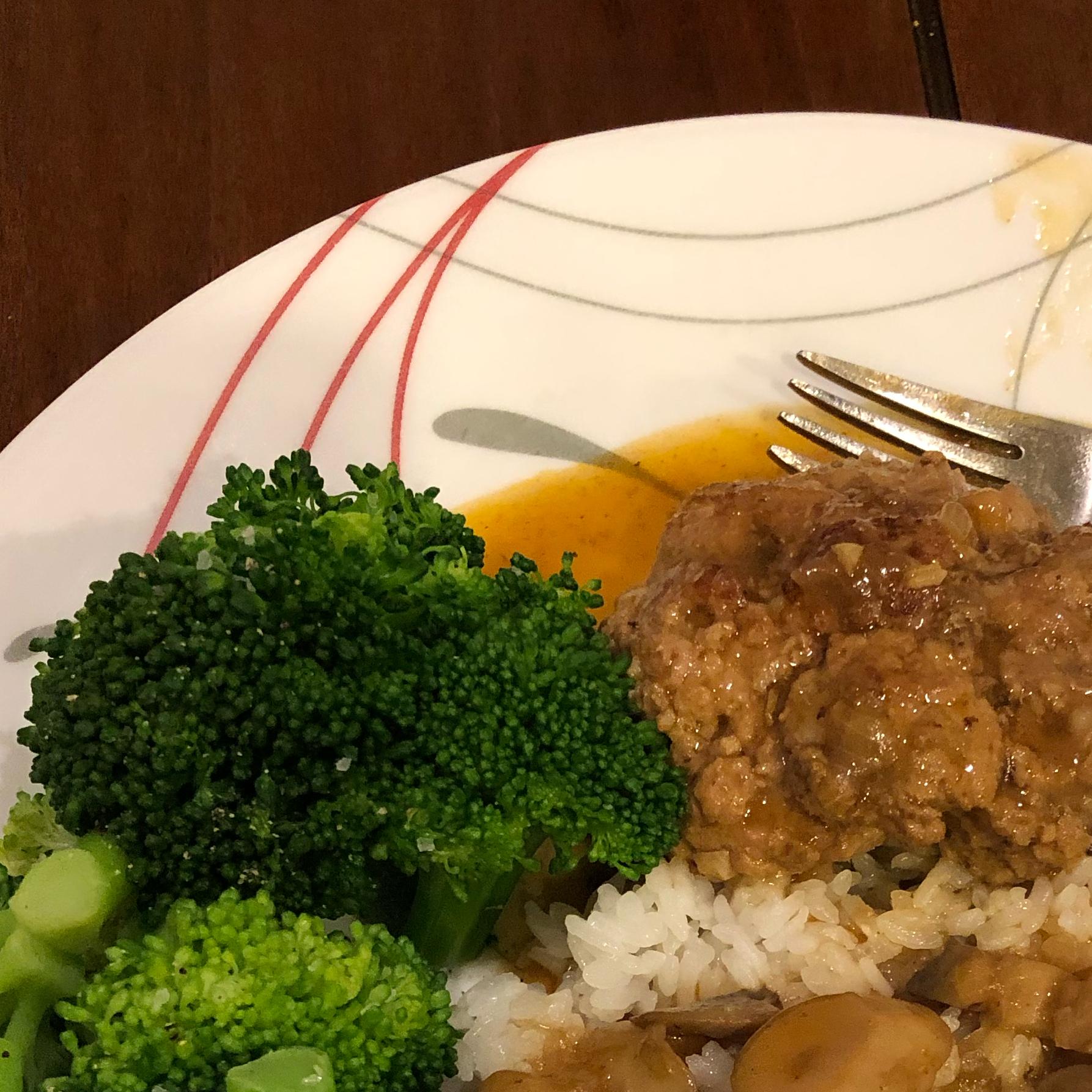 Instant Pot® Salisbury Steak with Onion and Mushroom Gravy