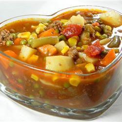 Vegetable Deer Soup