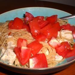 Italian Chicken Bow Tie Pasta kellieann