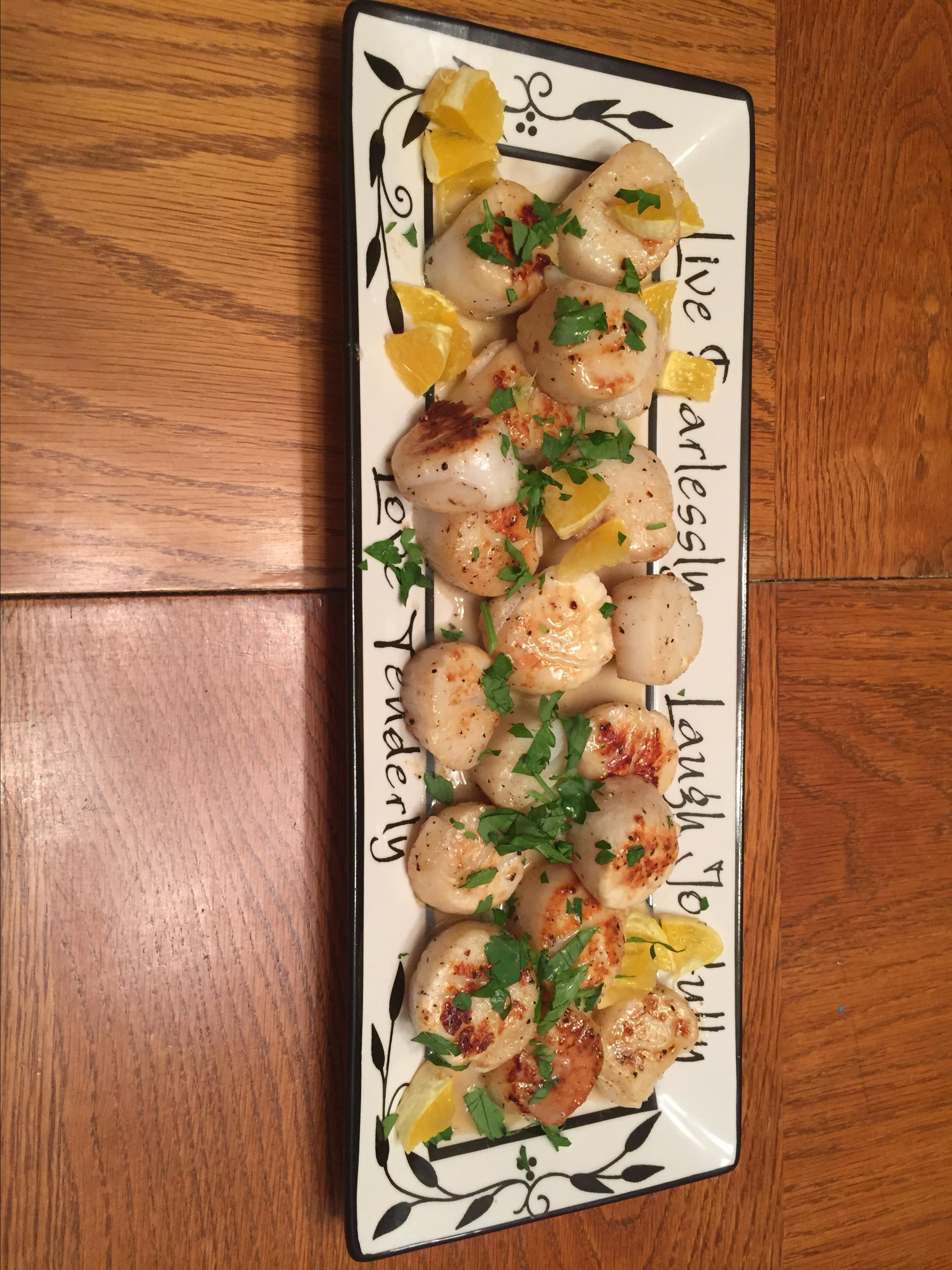 Scallops with Oranges and Vanilla Beurre Blanc