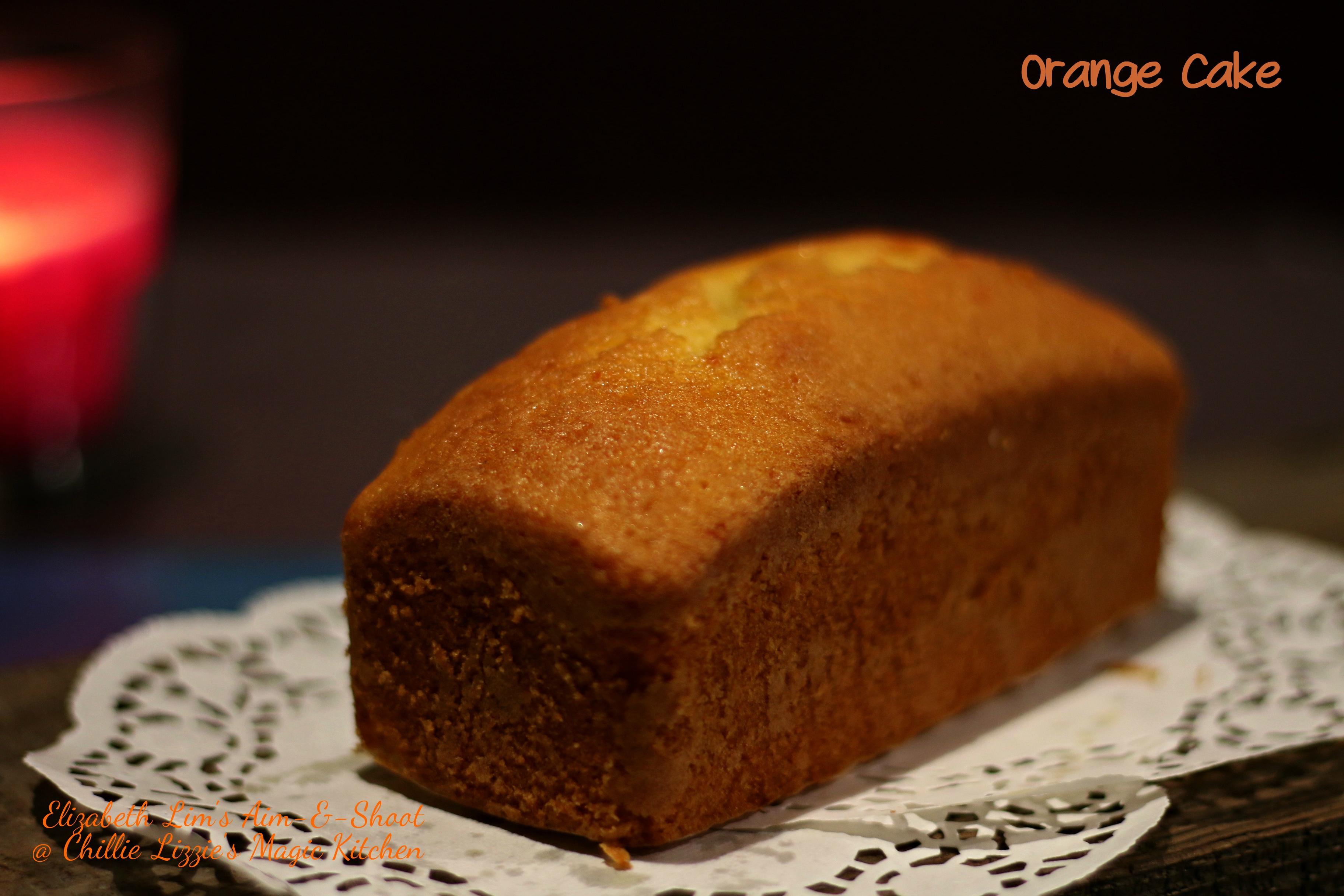 Beat and Bake Orange Cake Elizabeth ST Lim