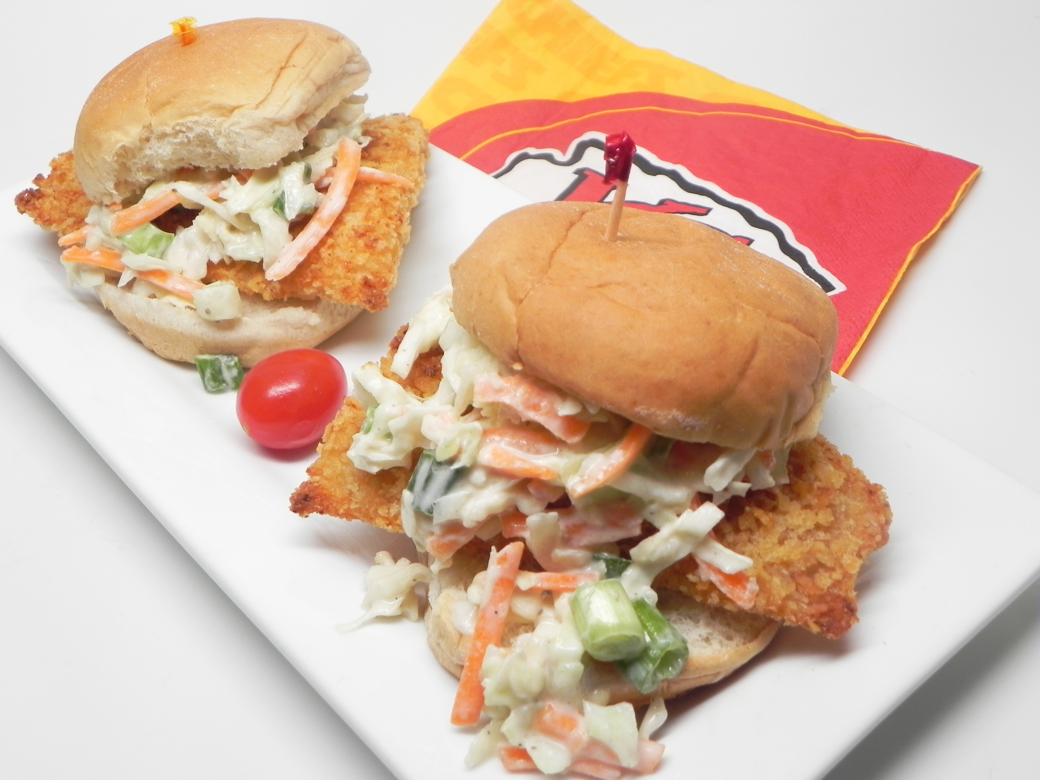 Fish and Chips Sliders