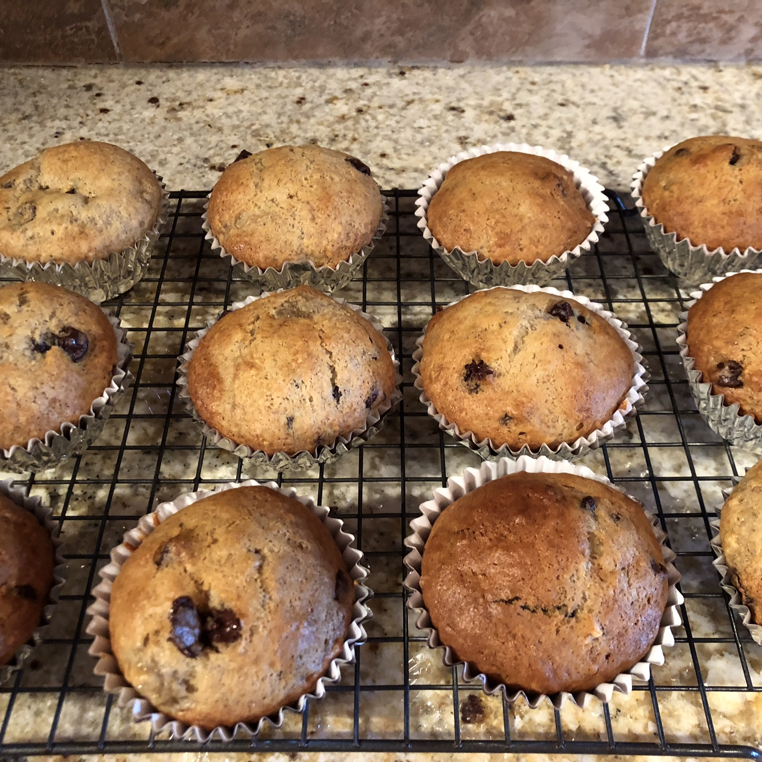 Easy Banana Muffins Louise Butterworth