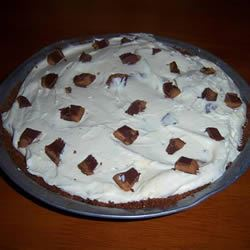 Peanut-Buttery Candy Pie