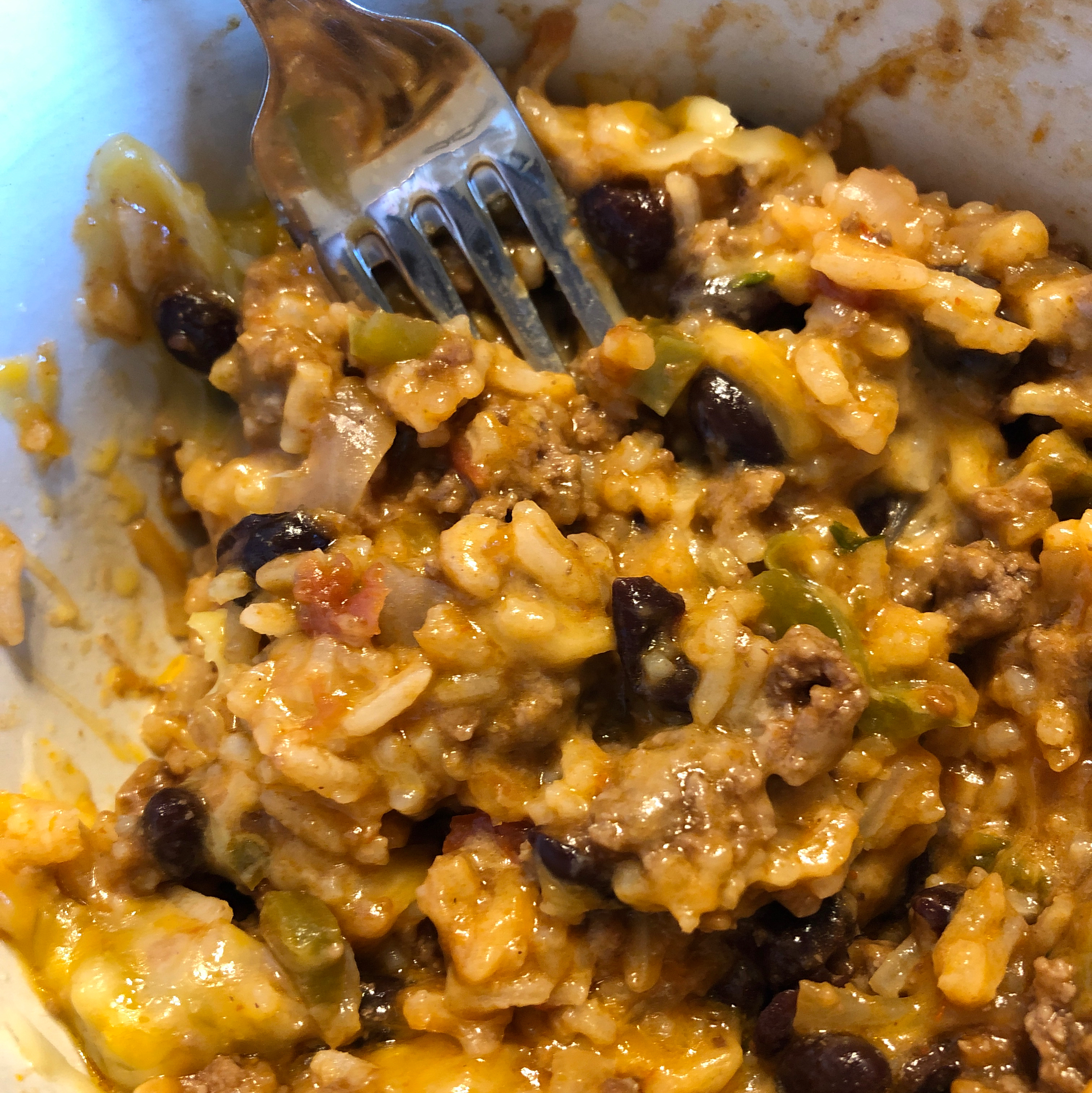 Pressure Cooker Mexican Beef Rice kelsey