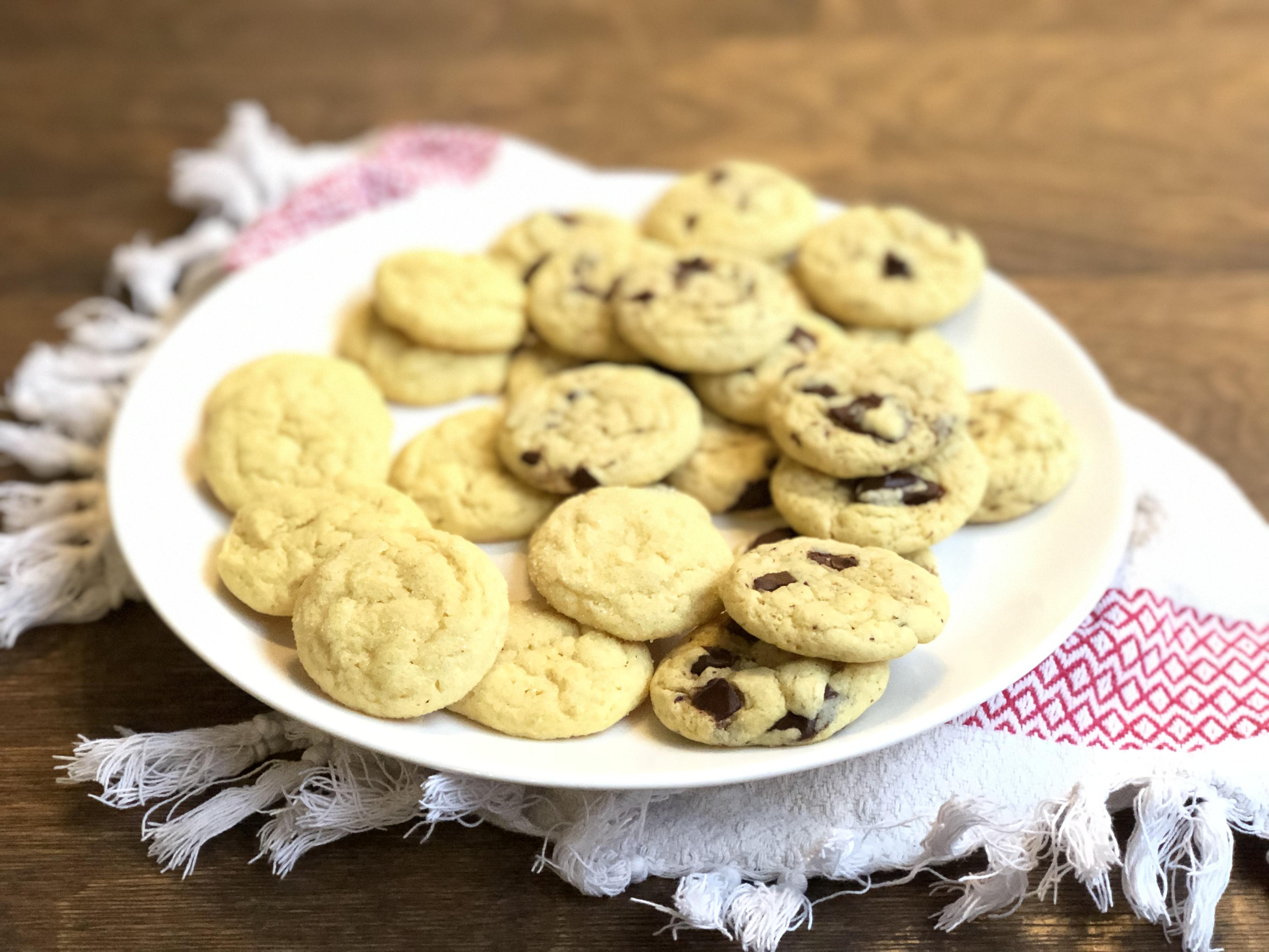 EVOO Sugar Cookies Diana Moutsopoulos