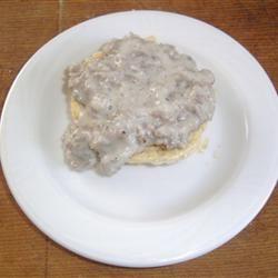 Peppery Sausage Breakfast Gravy