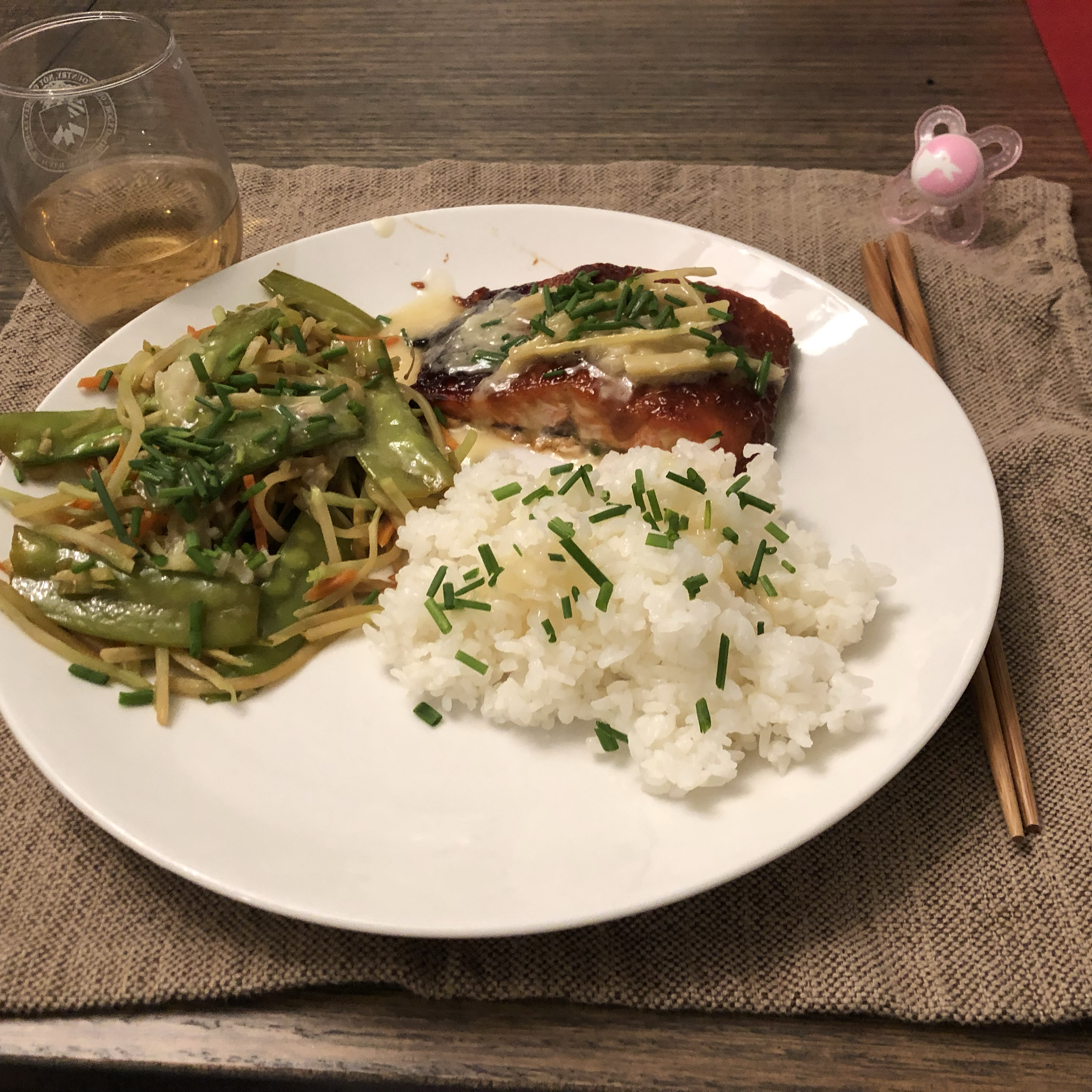 Miso Salmon with Sake Butter Julie Yost