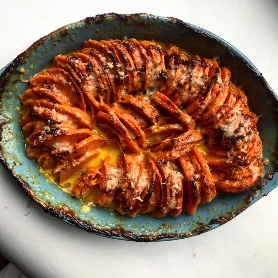 Cheesy Sweet Potatoes Jones
