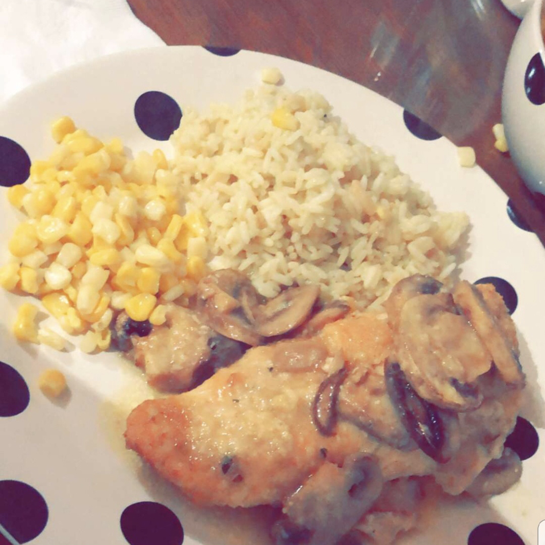 Grandma's Chicken Chardon