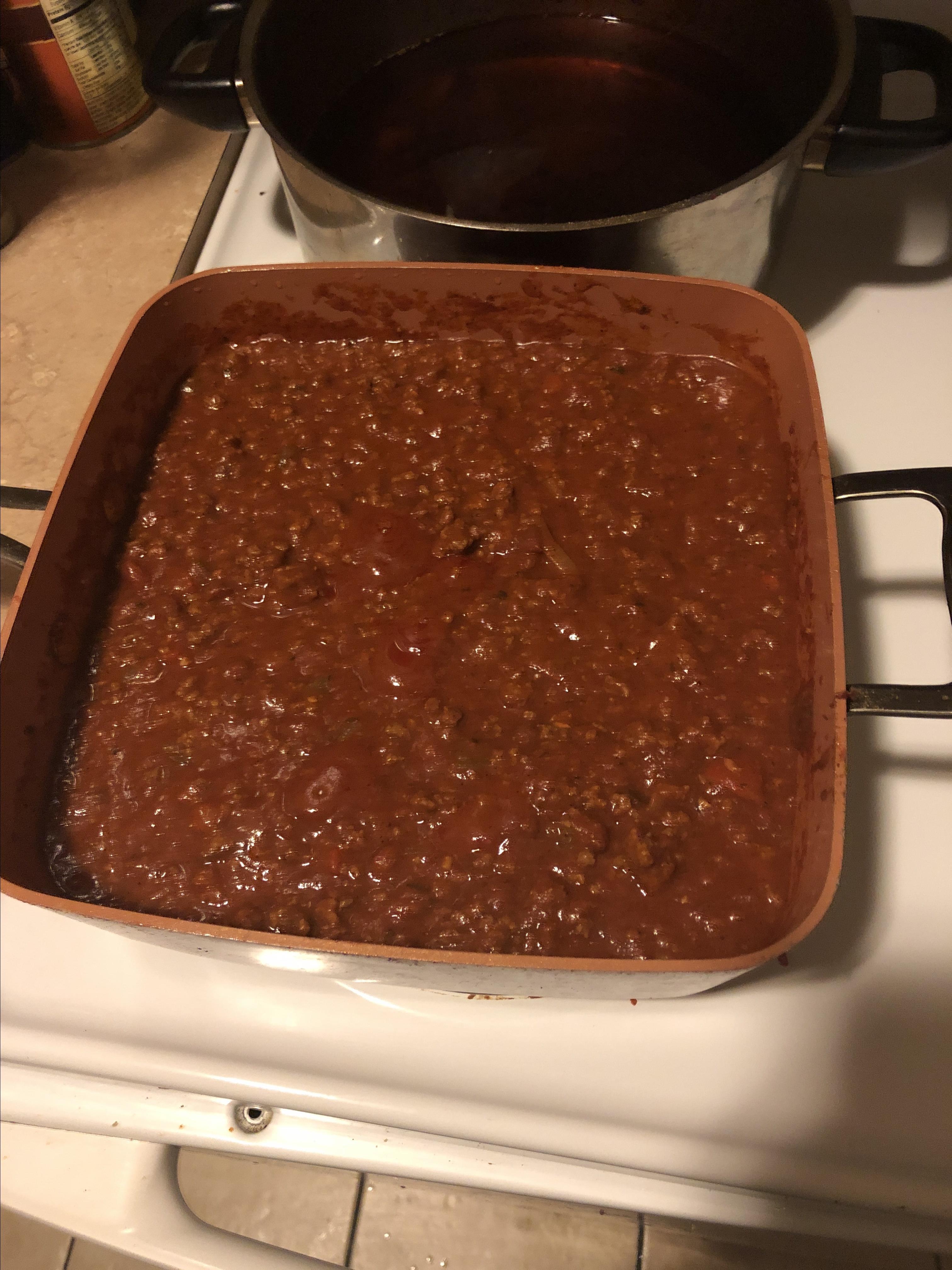Easy Homemade Chili Michael Jointer