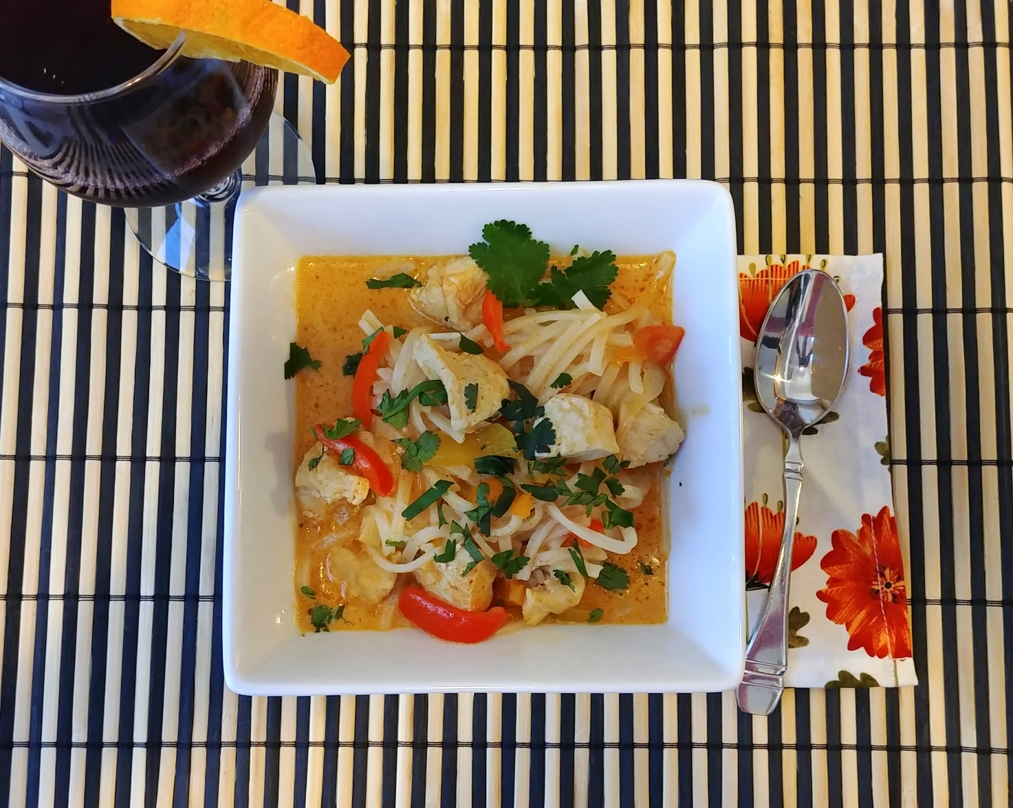 Five-Ingredient Red Curry Chicken Chef Mo