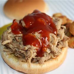 Sarge's EZ Pulled Pork BBQ