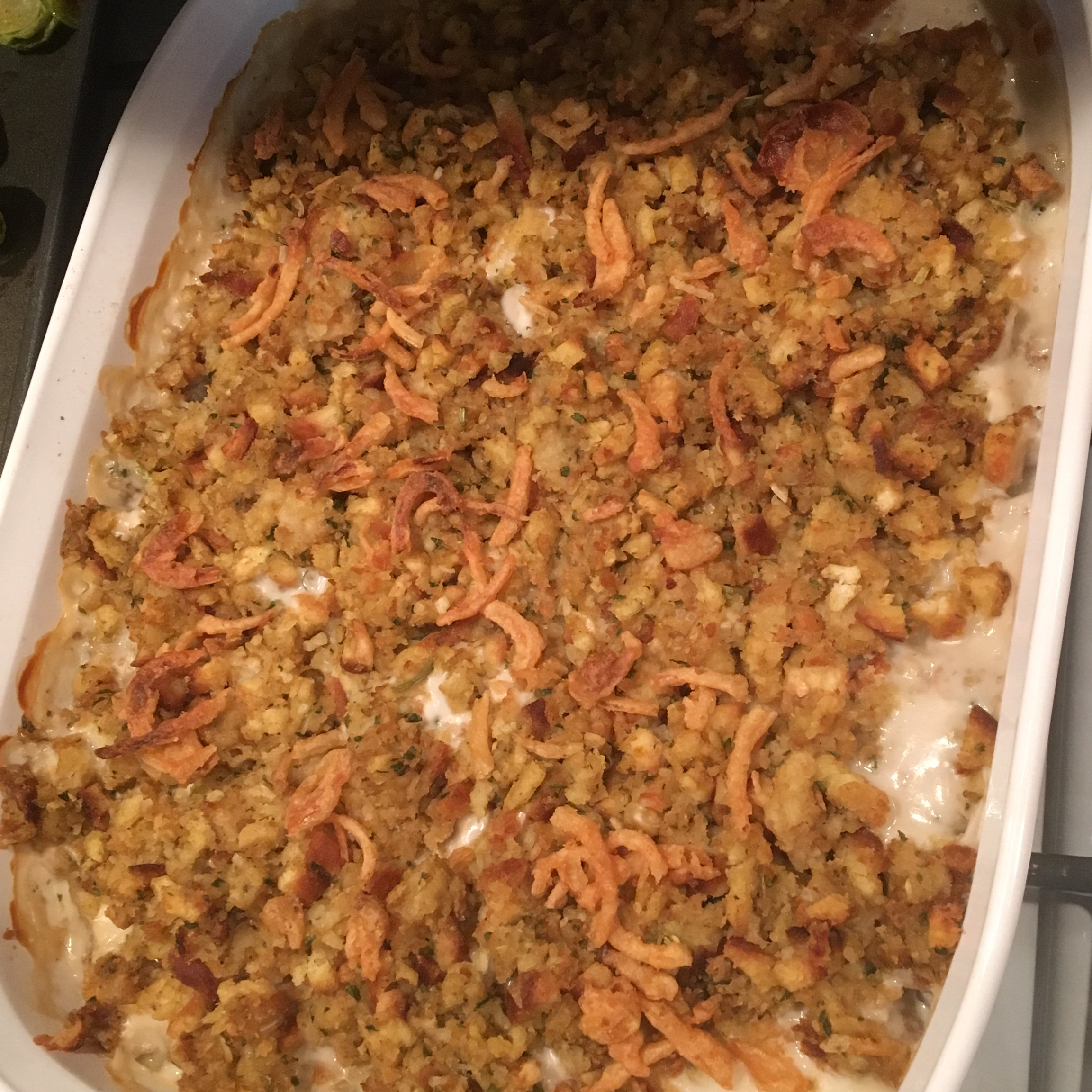 One-Dish Chicken and Stuffing Bake Hillery Higginbotham