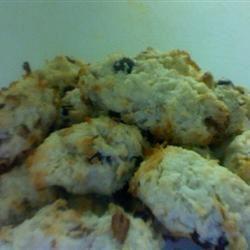 Coconut Raisin Cookies sal