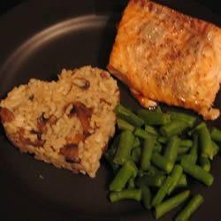 Grilled Cilantro Salmon Bakette