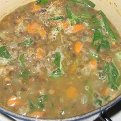 Autumn Lentil Soup Mrs.Nordy