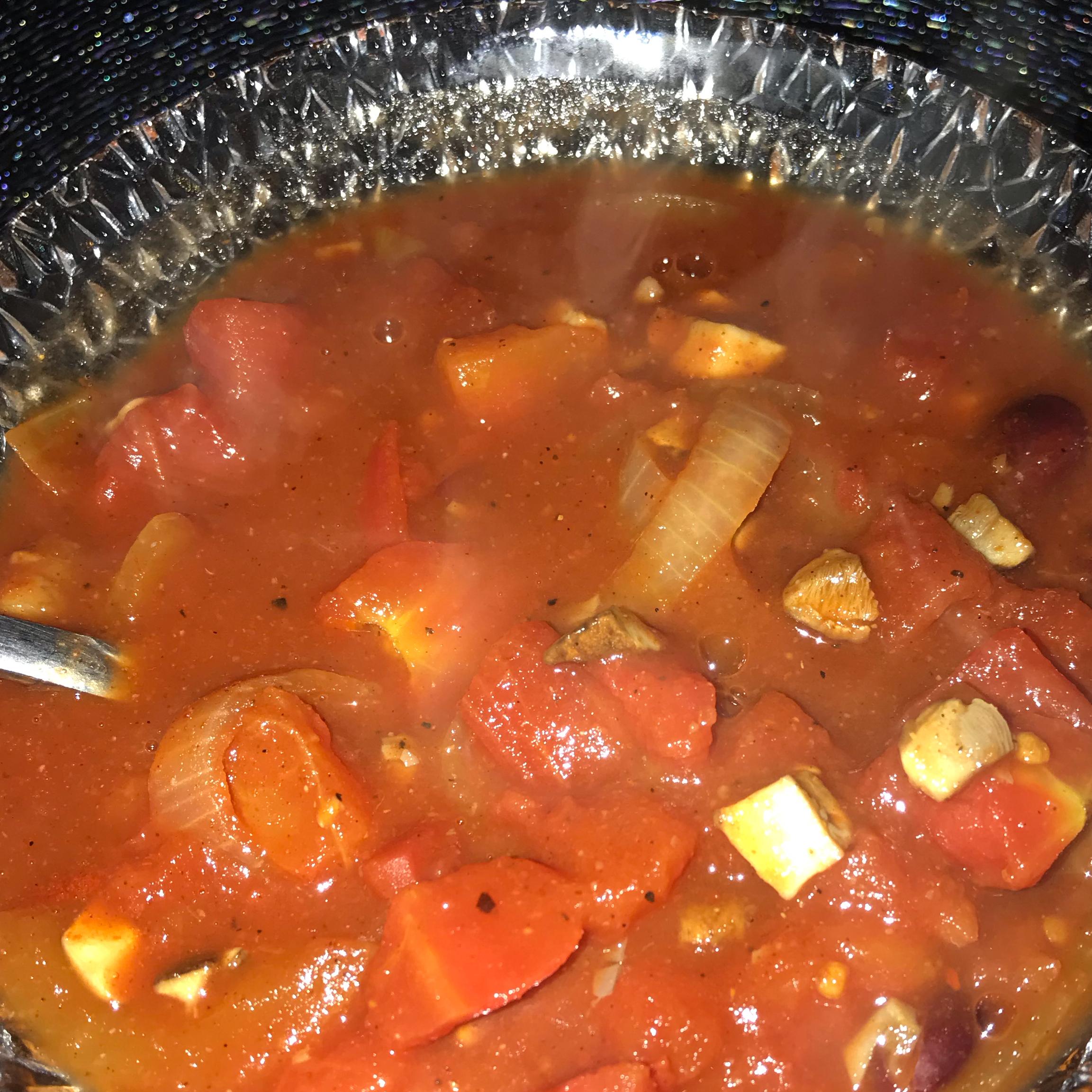 Low-Calorie Vegan Chili Yasmin