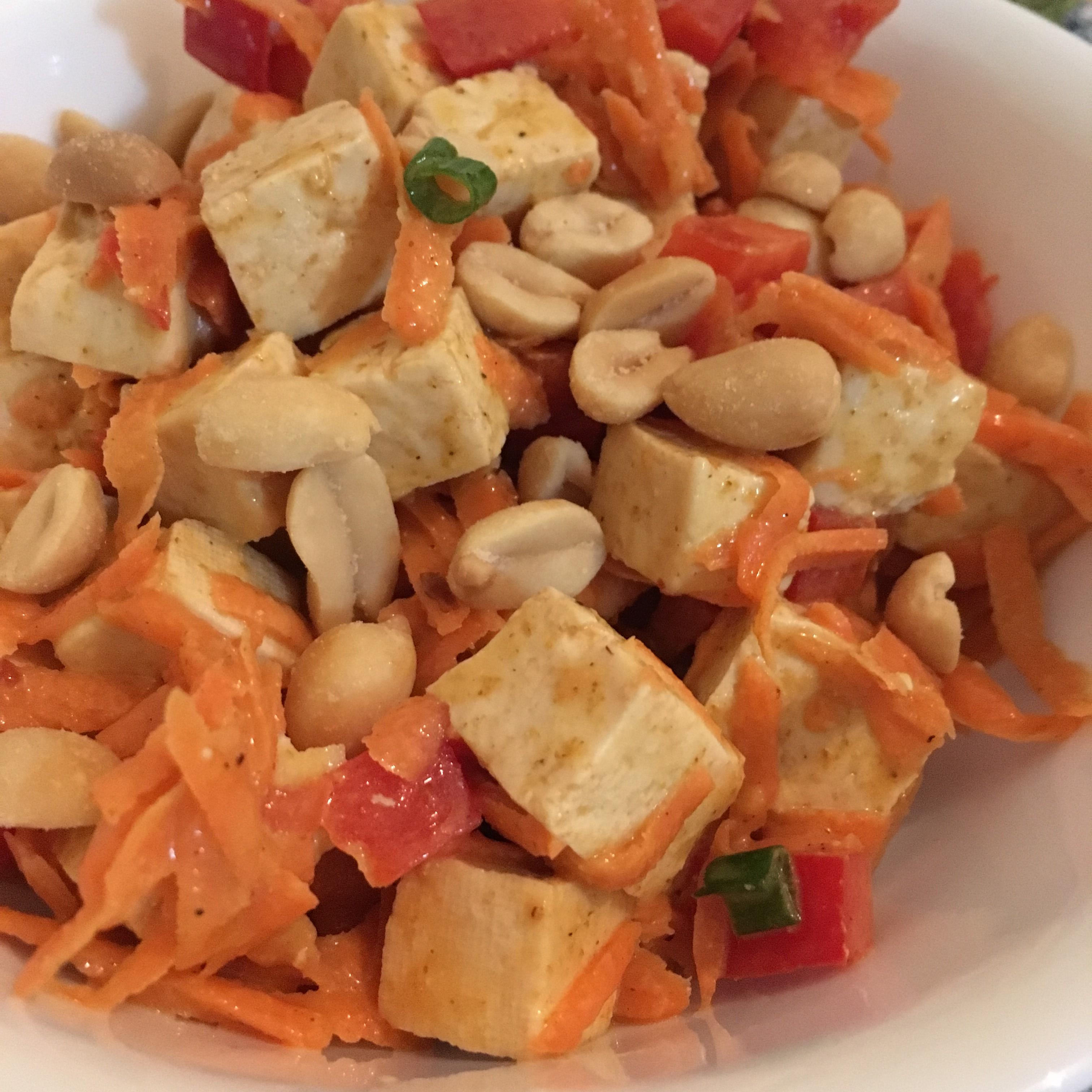 Curried Tofu Salad virgi