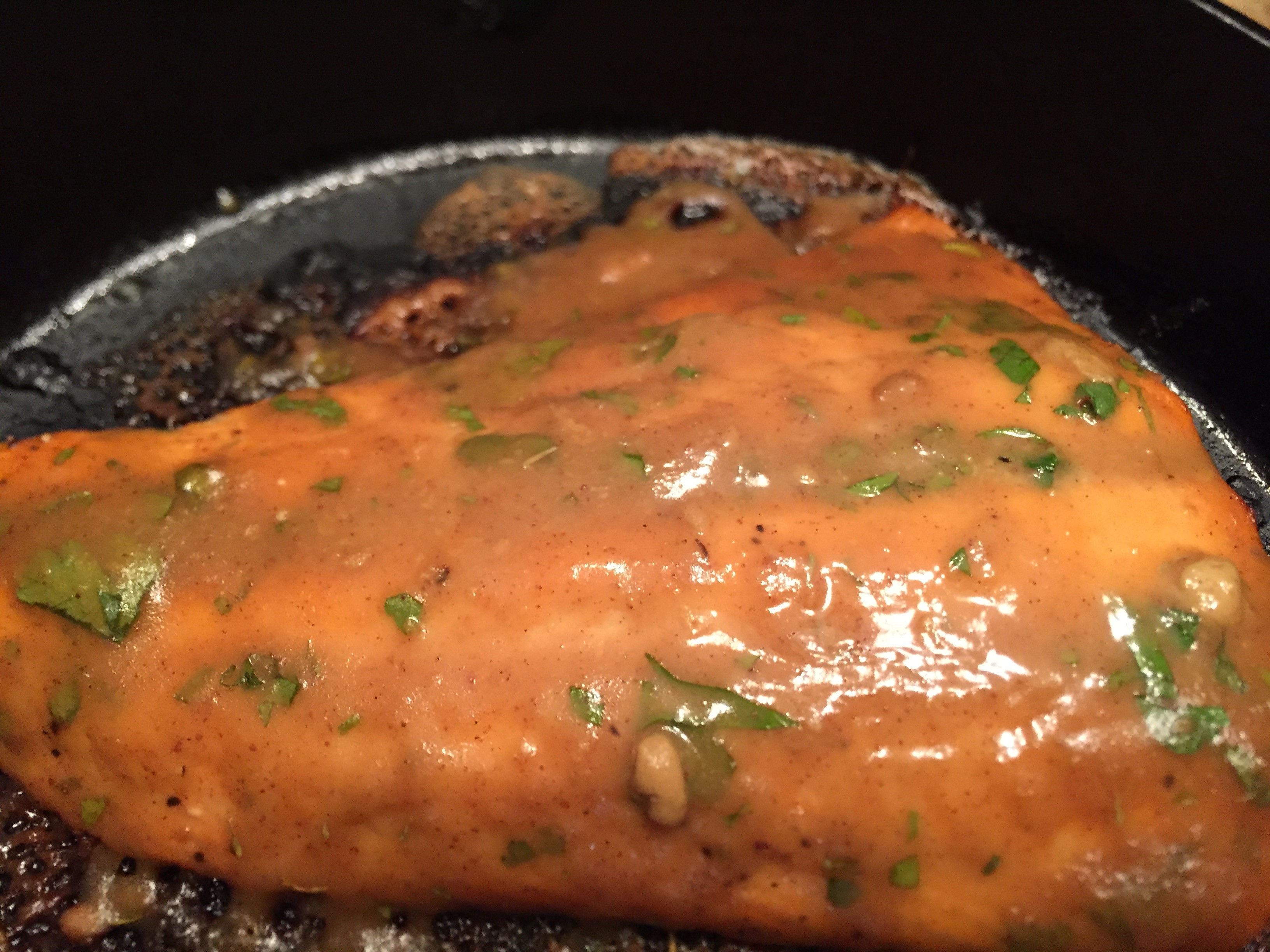 Maple Dijon Salmon tcasa