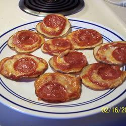 Roasted Potato Pizza Slices pomplemousse