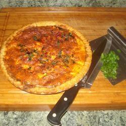 Sausage and Sun-Dried Tomato Quiche alice