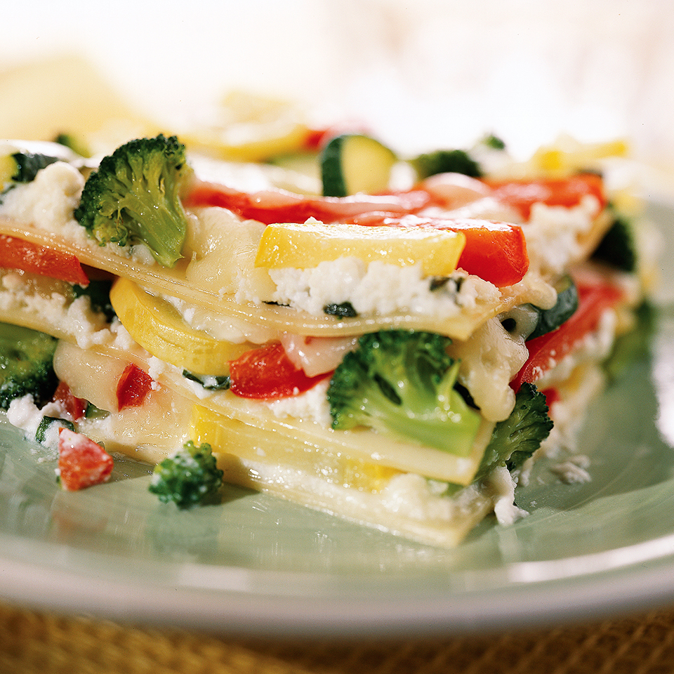 Garden Vegetable Lasagna Diabetic Living Magazine