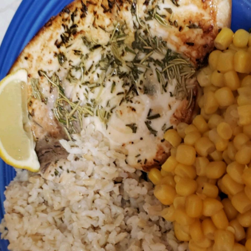 Grilled Swordfish with Rosemary Kimberly Conderino