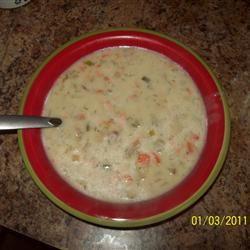 Simple Salmon Chowder II