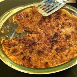 Apple Crunch Pie I