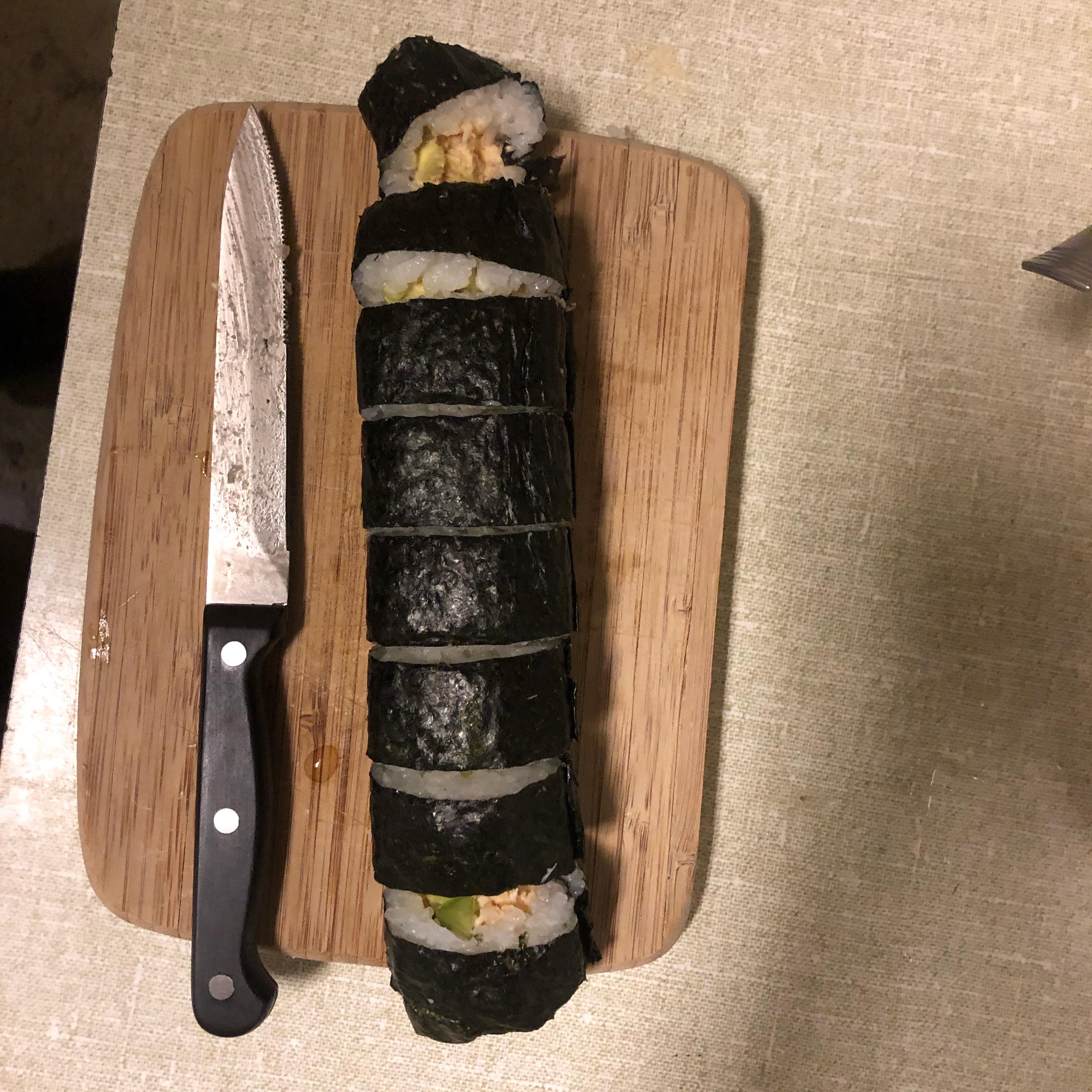 Cream Cheese and Crab Sushi Rolls KyRich