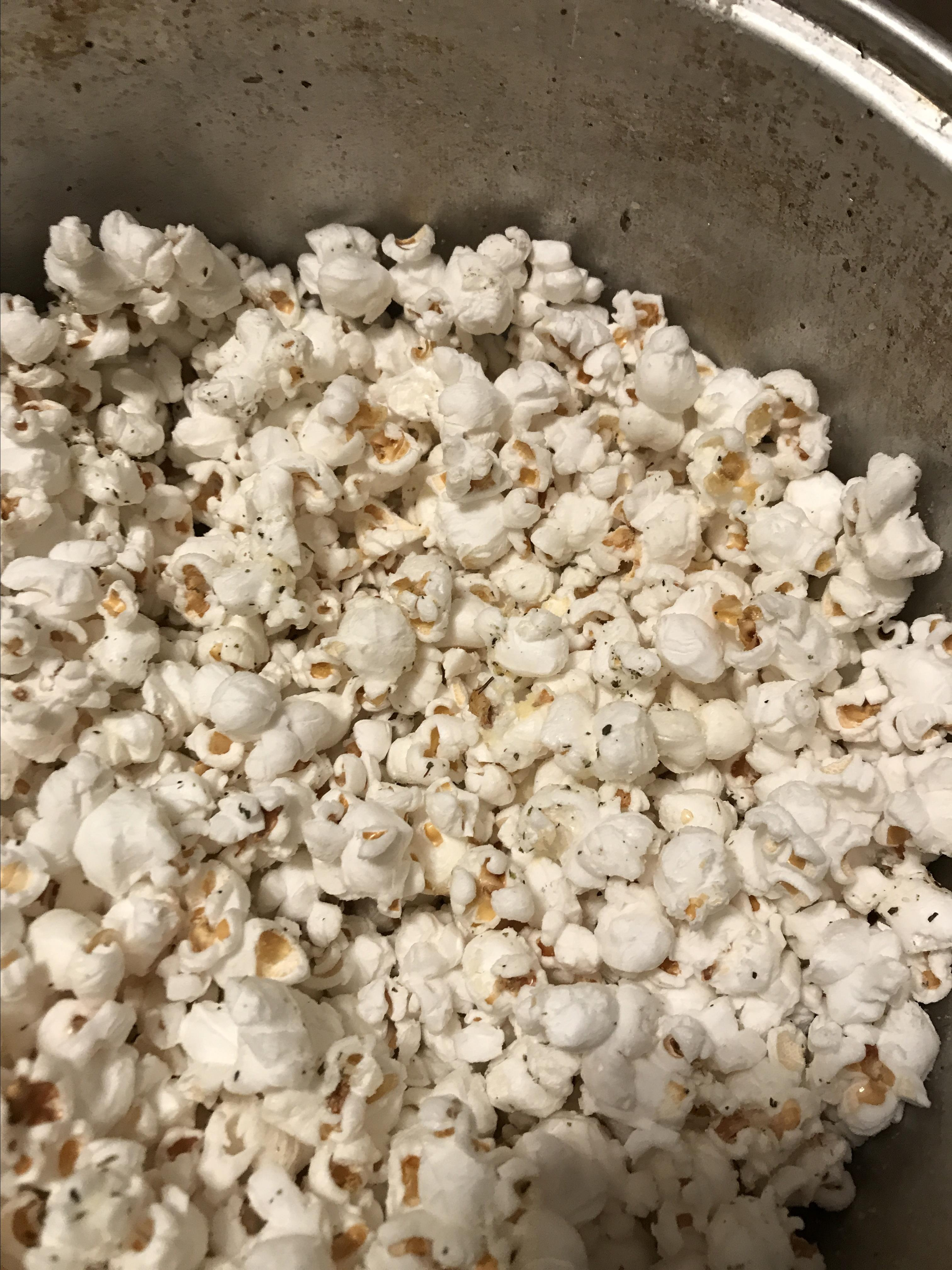 Italian Popcorn with Parmesan