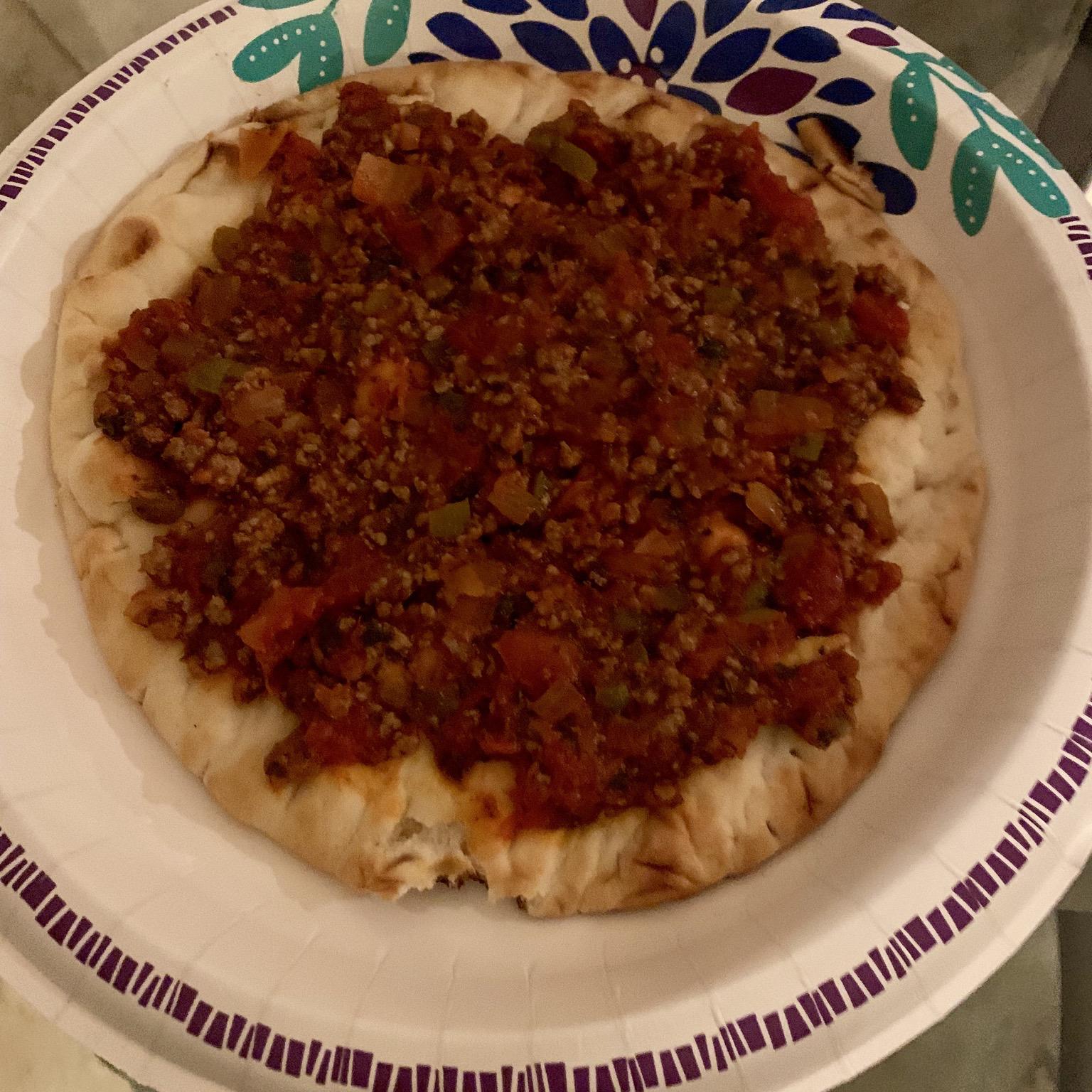 Lahmahjoon (Armenian Pizza) Alina