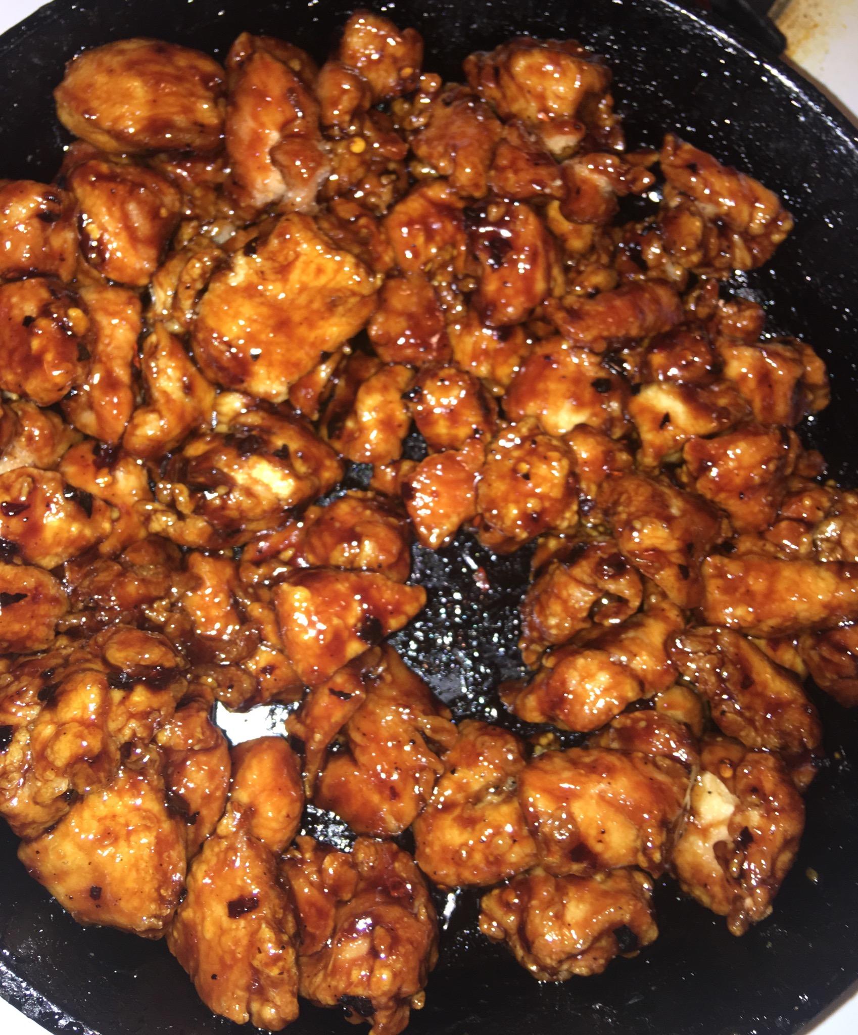 General Tso's Chicken Sabrina Showell
