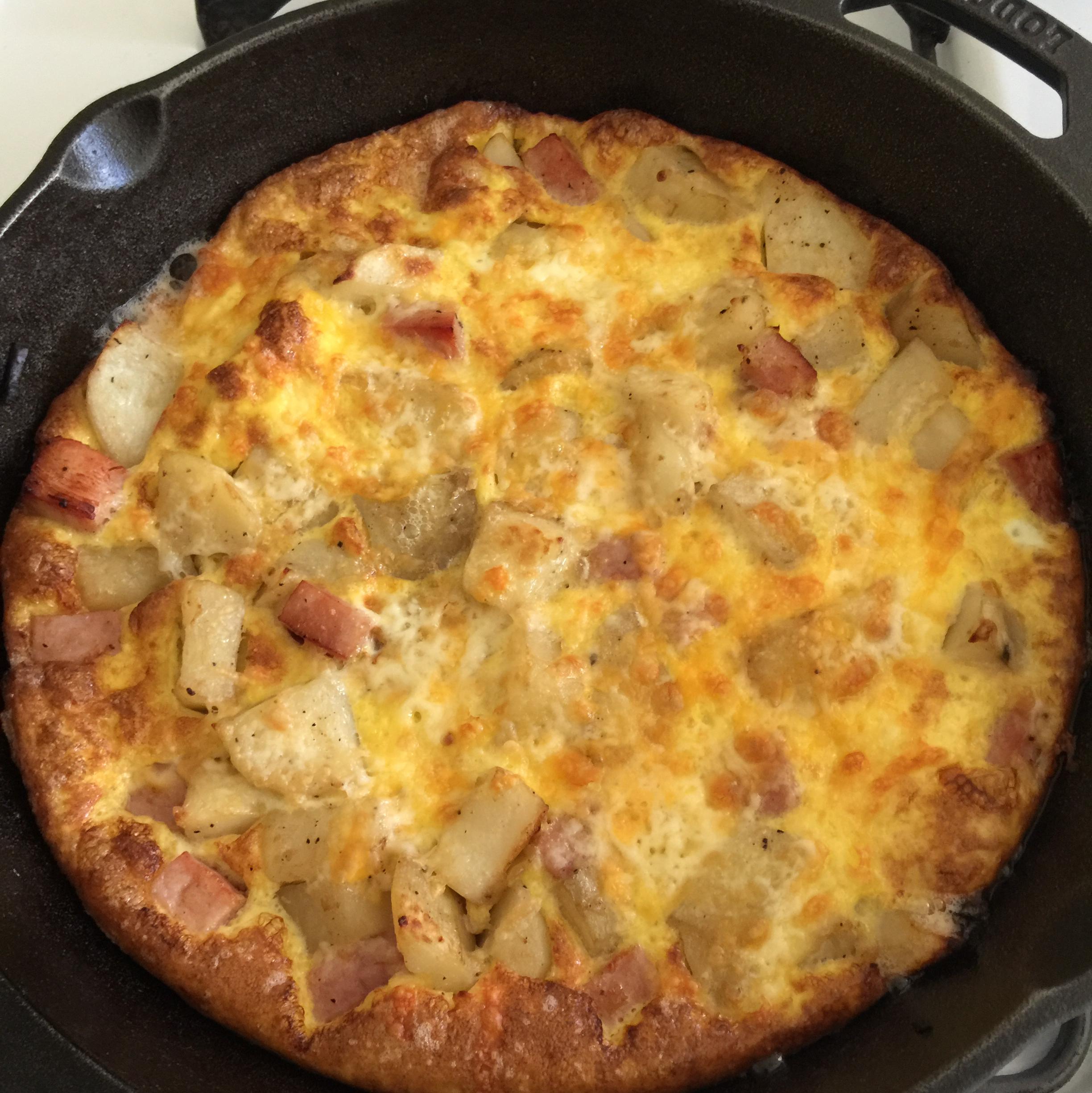 Ham and Egg Frittata Gonzo