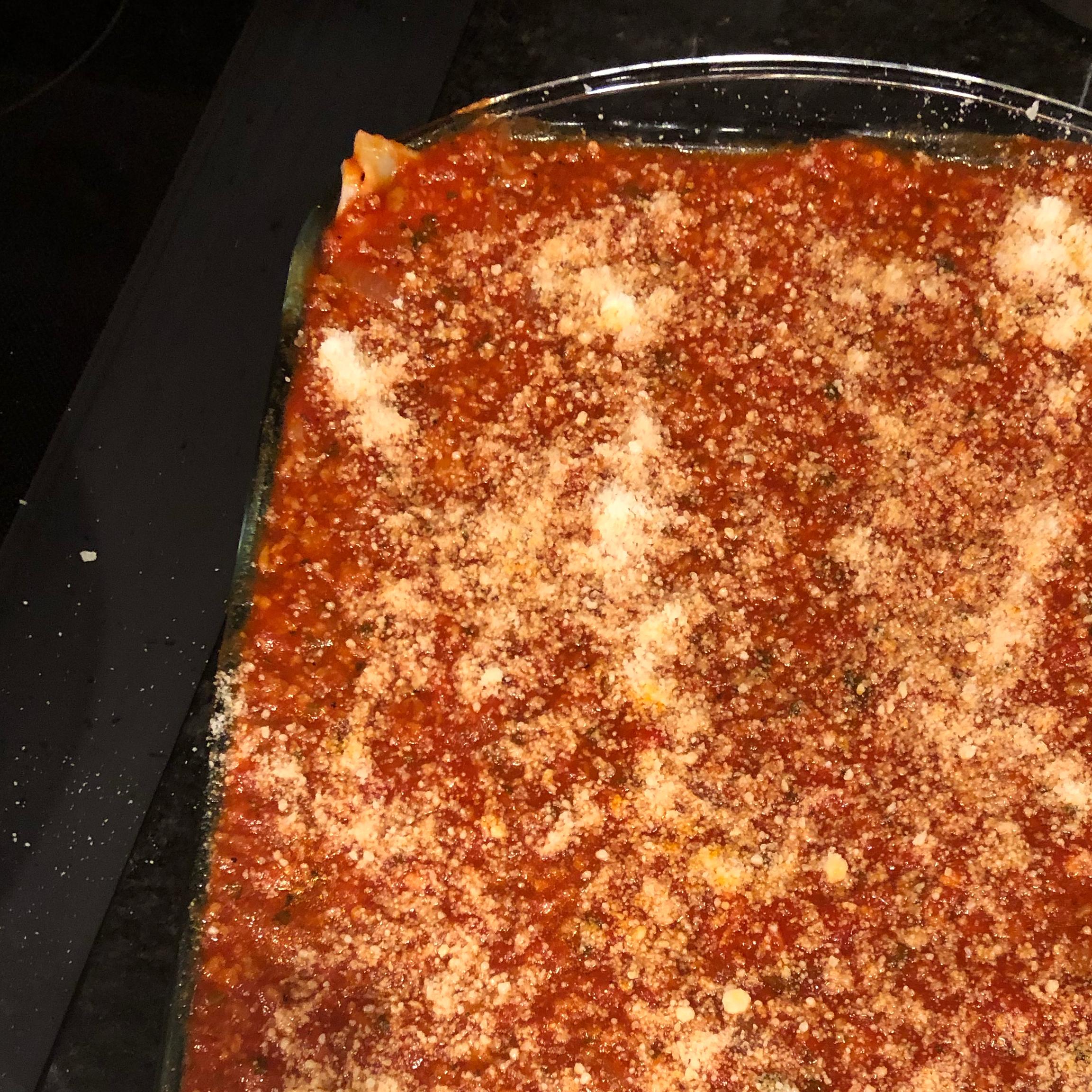World's Best Lasagna sneu