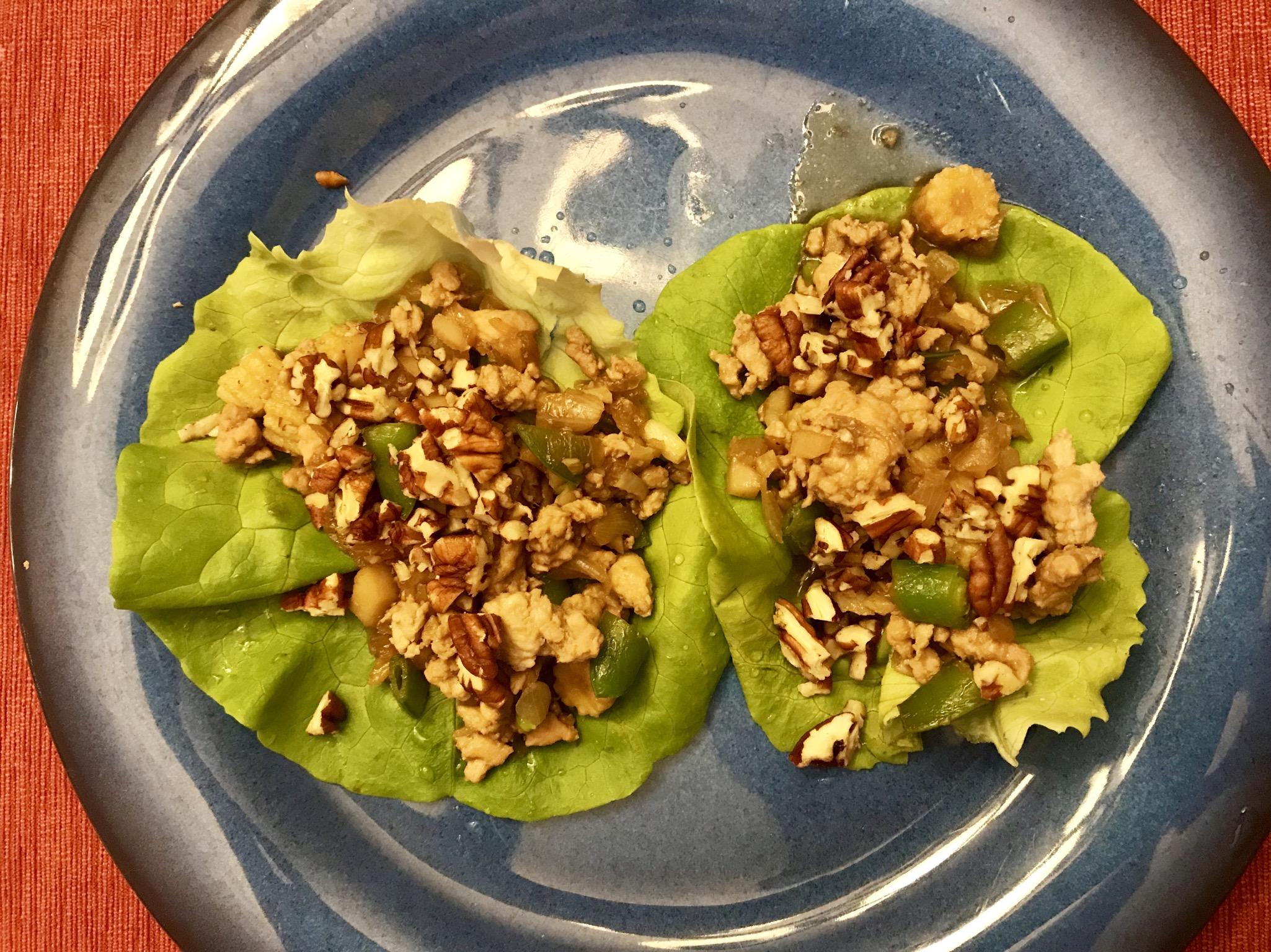 Tantalizing Chicken Lettuce Wraps