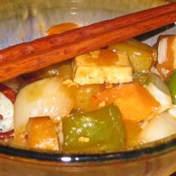Teriyaki Tofu with Pineapple elle888