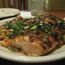 Oven-Baked Salmon with Hoisin and Plum Sauce