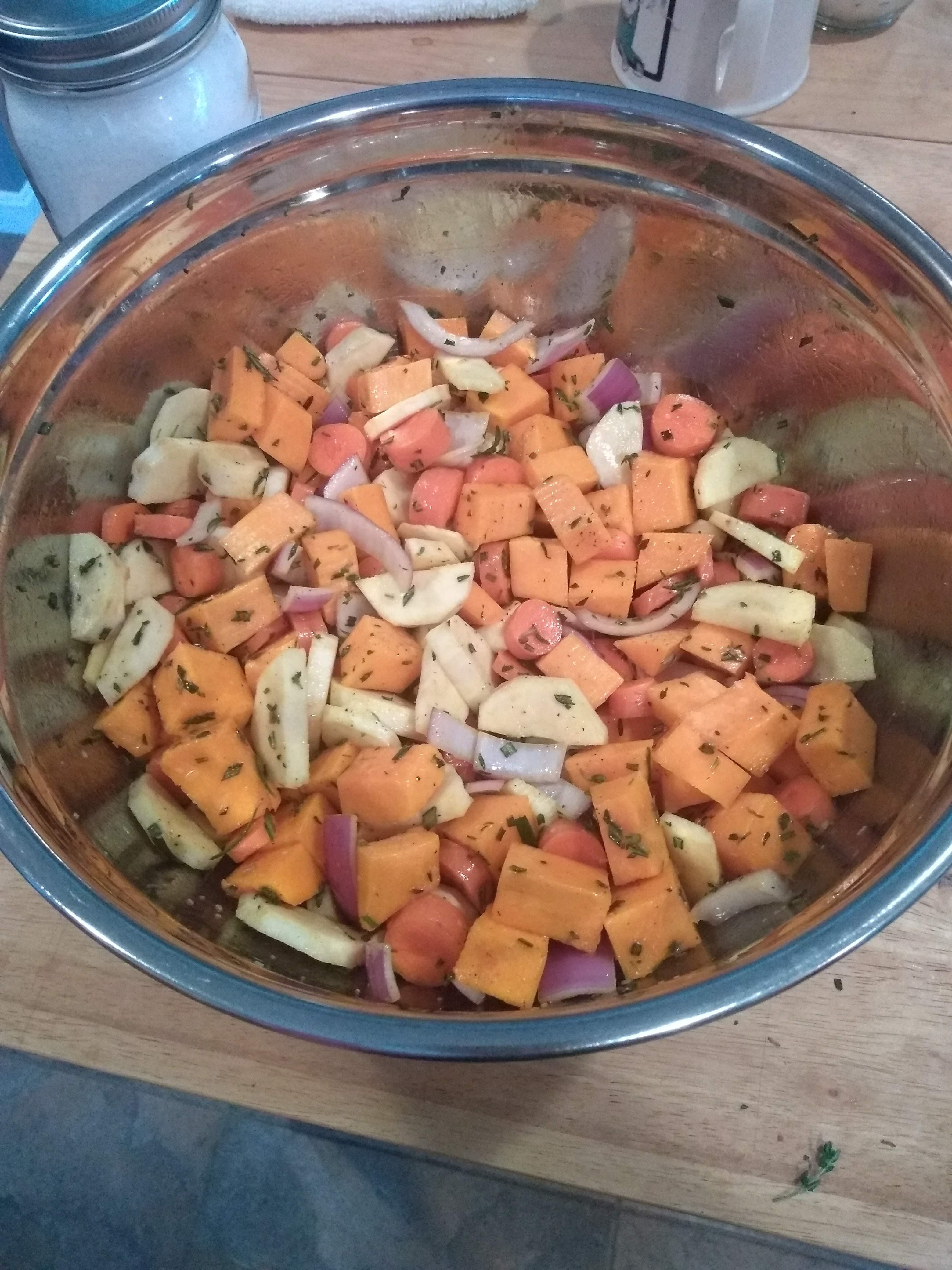 Seasoned Roasted Root Vegetables Allrecipes Community