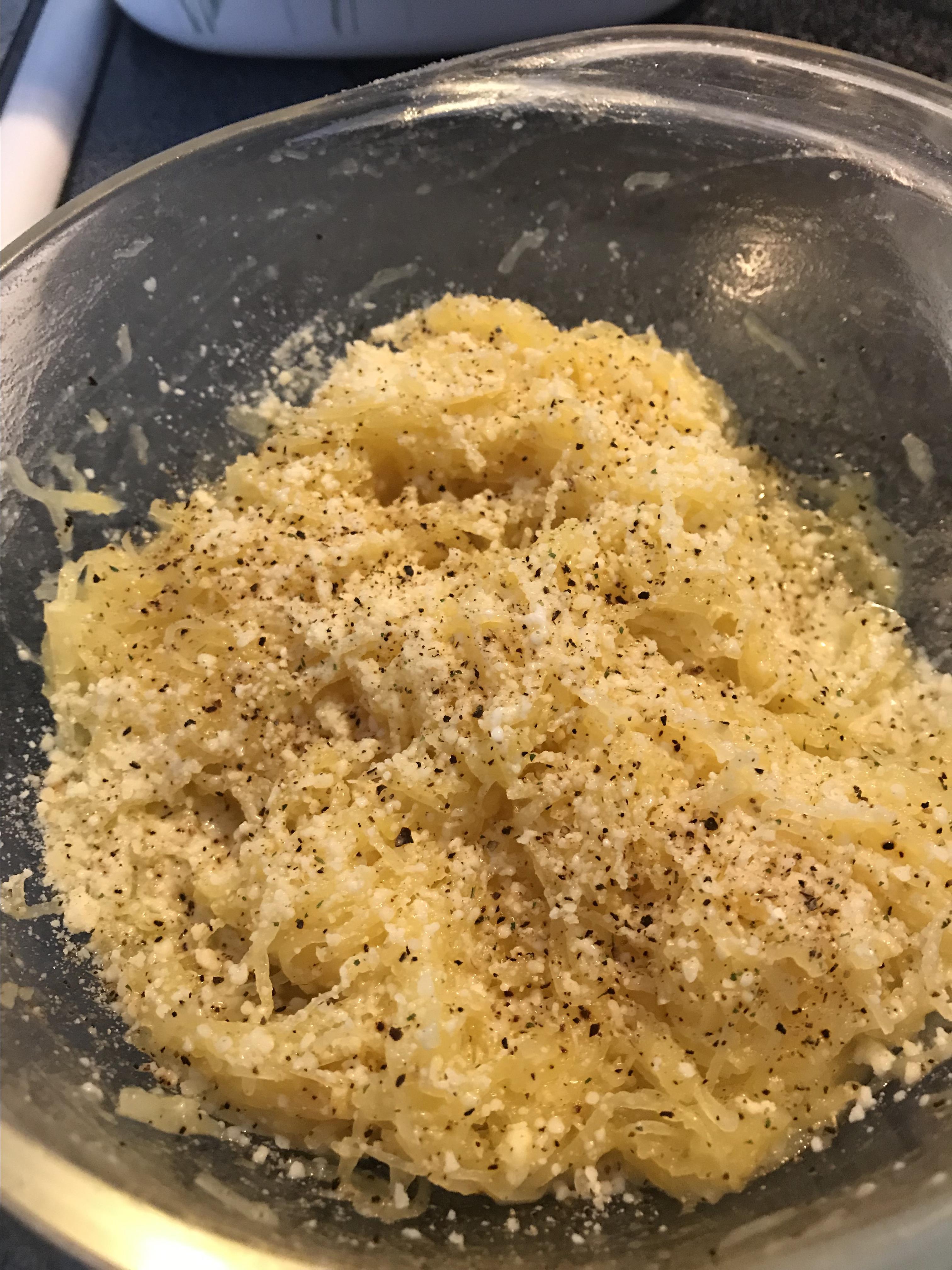 Easy Spaghetti Squash Spaghetti SwePeaze
