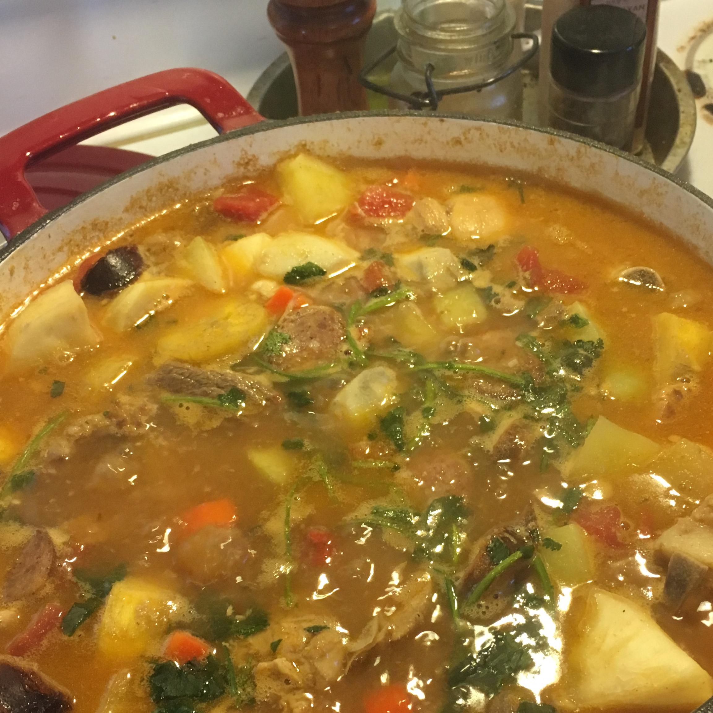 True Dominican Sancocho (Latin 7-Meat Stew) Maria Rosado