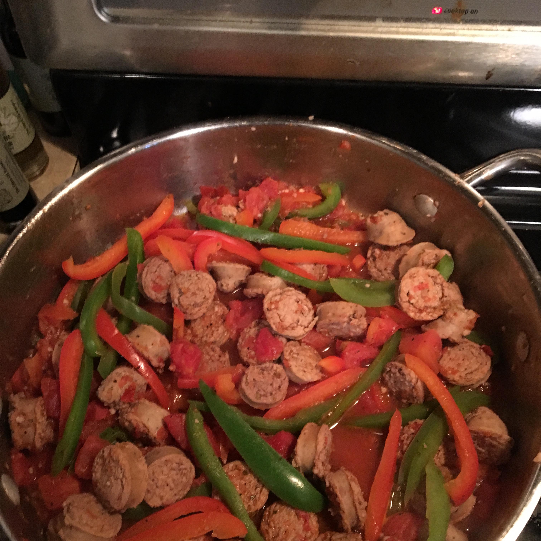 Sweet Sausage Marsala