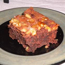 Passover Brownie Cake GINGEE