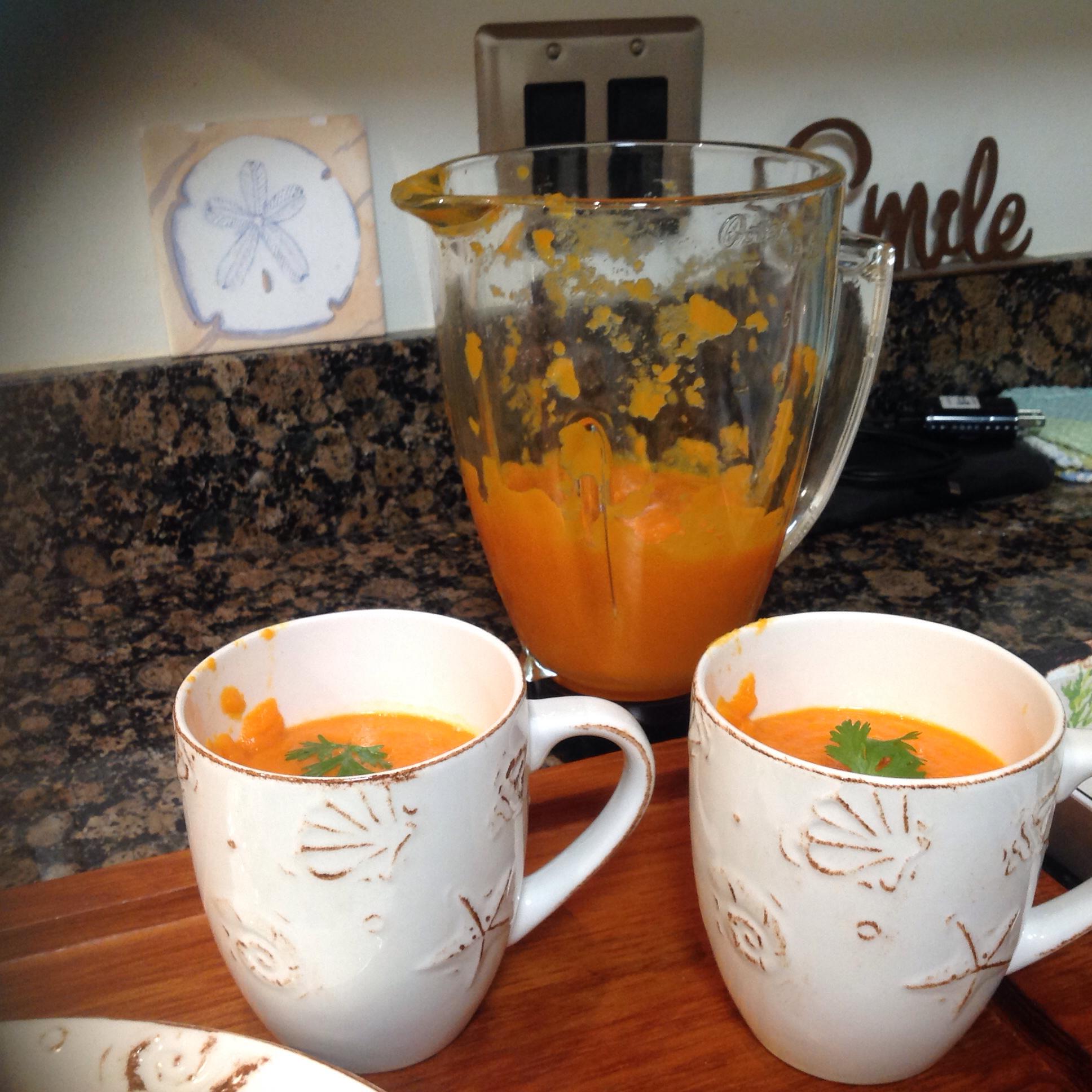 Carrot-Ginger Soup Susan Butler