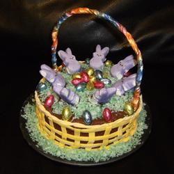 Easter Basket Cake hblackstone